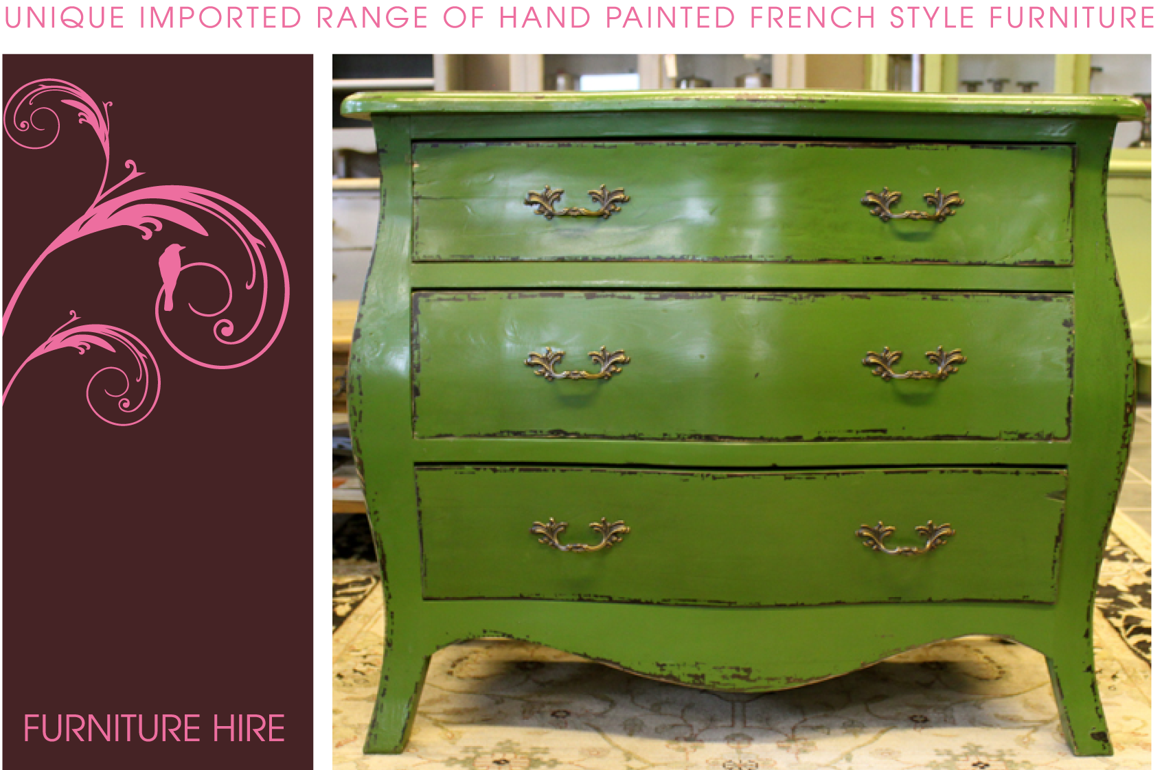 Furniture hire - Pictures of furniture ...